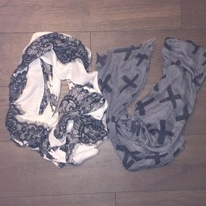 Accessories - 2 cute scarves 💕